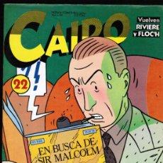 Cómics: CAIRO Nº 22 - NORMA. Lote 33586035