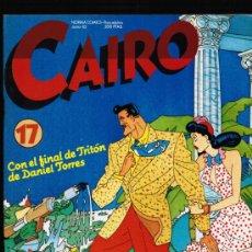 Cómics: CAIRO Nº 17 - NORMA. Lote 113038172