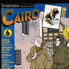 Cómics: CAIRO Nº 6 - NORMA. Lote 113038188