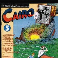 Cómics: CAIRO Nº 5 - NORMA. Lote 113038199