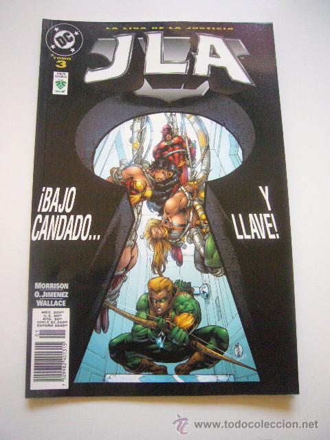 LA LIGA DE LA JUSTICIA JLA TOMO 3. ¡BAJO CANDADO... Y LLAVE! NORMA E01 (Tebeos y Comics - Norma - Comic USA)