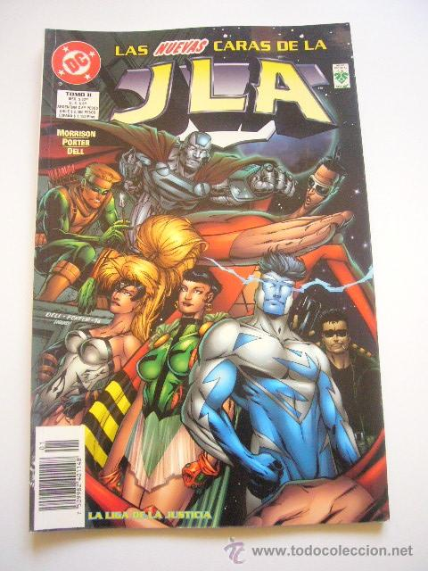 LA LIGA DE LA JUSTICIA. JLA. TOMO 2. LAS NUEVAS CARAS DE LA JLA. NUEVONORMA E01 (Tebeos y Comics - Norma - Comic USA)