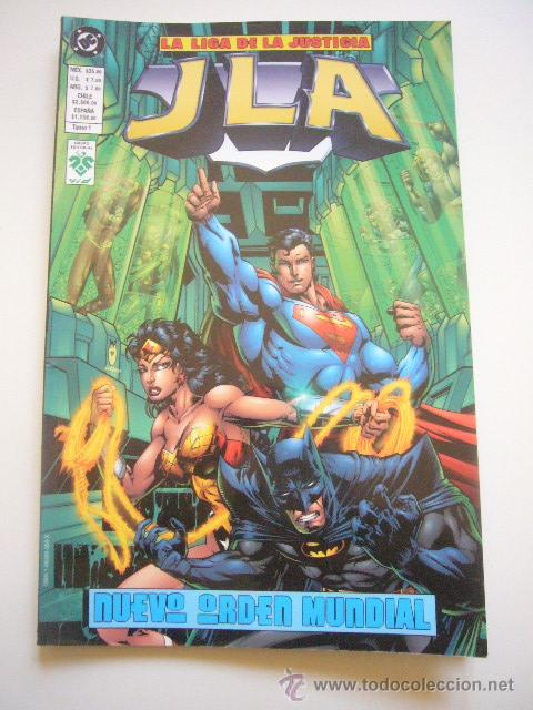 JLA LA LIGA DE LA JUSTICIA . TOMO 1 . NUEVO ORDEN MUNDIAL . DC .NORMA E01 (Tebeos y Comics - Norma - Comic USA)