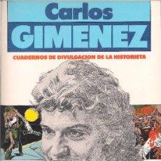 Cómics: CARLOS JIMENEZ - UN HOMBRE MIL IMÁGENES Nº 1 - NORMA 1982 - TAPA BLANDA - 48 PÁGINAS BLANCO Y NEGRO. Lote 33752968