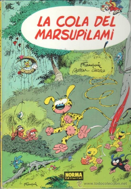 LA COLA DEL MARSUPILAMI - FRANQUIN,BATEM,GREG- NORMA EDITORIAL 1988 (Tebeos y Comics - Norma - Otros)