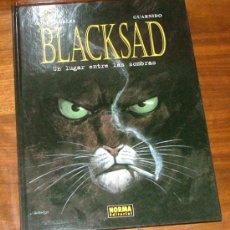Cómics: CÓMIC 'BLACKSAD. UN LUGAR ENTRE LAS SOMBRAS' (DÍAZ CANALES, GUARNIDO). Lote 33950171