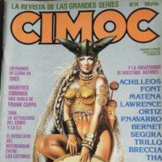 Cómics: CIMOC Nº 24 FEBRERO 83. Lote 34242967