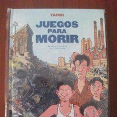 Cómics: JUEGOS PARA MORIR TARDI NORMA EDITORIAL. Lote 34342613