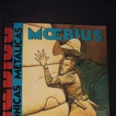 Cómics: MOEBIUS - CRONICAS METALICAS - NORMA EDITORIAL - , COMO NUEVO -. Lote 34357718