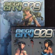 Cómics: MEGA CITY 909 , VOLUMEN 01 Y 02 - EDITA : NORMA. Lote 17206044