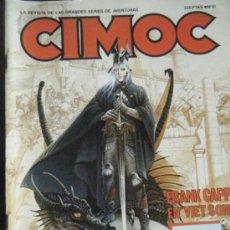 Cómics: CIMOC Nº 81 12/87. Lote 34483361