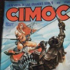 Cómics: CIMOC Nº 31 SETIEMBRE 83. Lote 34484732