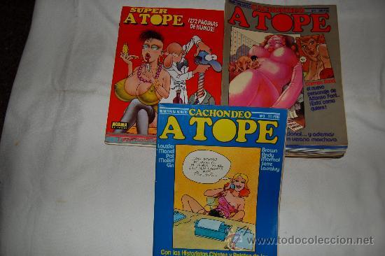 CACHONDEO A TOPE - HUMOR A TOPE 33 NÚMEROS (Tebeos y Comics - Norma - Otros)