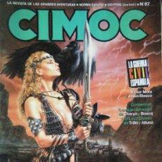 Cómics: CIMOC Nº 67 2/87. Lote 34856578
