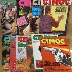 Cómics: CIMOC ESPECIAL - CASI COMPLETA 12 EJEMPLARES (FALTA SOLO UNO) - NORMA ED - COMO NUEVOS - Y SUELTOS. Lote 34906845