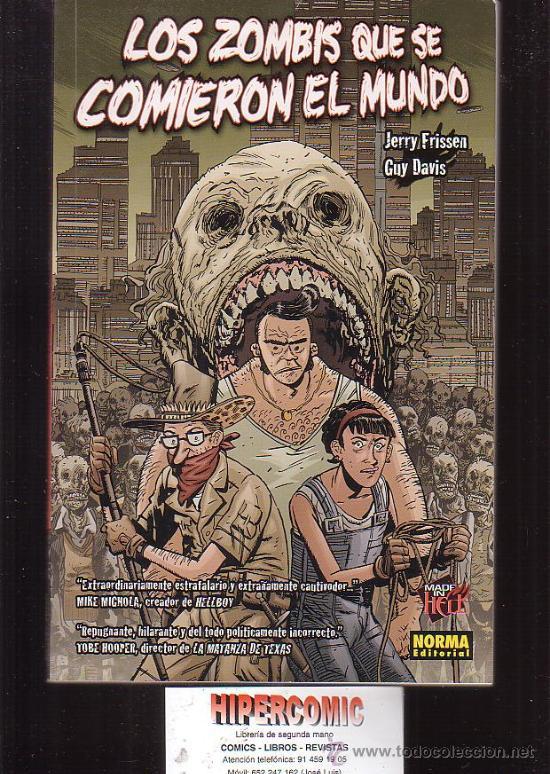 LOS ZOMBIS QUE SE COMIERON EL MUNDO -EDITA : NORMA (Tebeos y Comics - Norma - Comic USA)