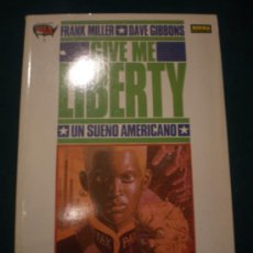 Cómics: GIVE ME LIBERTY (2: DESIERTOS) COMIC-FRANK MILLER & DAVE GIBBONS -NORMA EDITORIAL 1991 (MADE IN USA). Lote 35008223