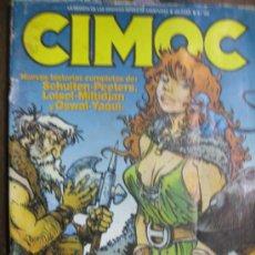 Cómics: CIMOC. LOTE DE 7 COMICS. NUMEROS 99, 100, 101,102, 103, 104, 105. Lote 35020329