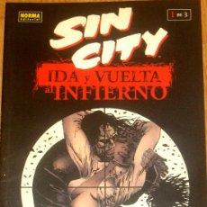 Cómics: SIN CITY IDA Y VUELTA AL INFIERNO 1 DE 3 FRANK MILLER NORMA EDITORIAL AÑO 2001. Lote 35174739