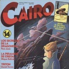 Cómics: CAIRO Nº 14. Lote 35180843
