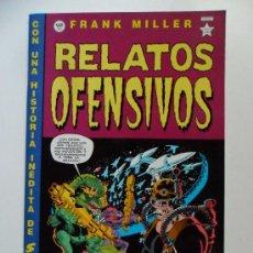 Cómics: RELATOS OFENSIVOS . FRANK MILLER. Lote 35180867