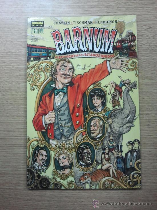BARNUM AL SERVICIO DE LOS ESTADOS UNIDOS (Tebeos y Comics - Norma - Comic USA)