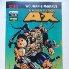 Cómics: EL HOMBRE LLAMADO A-X Nº 1 DE 5 . WOLFMAN . MCMANUS. Lote 35646323