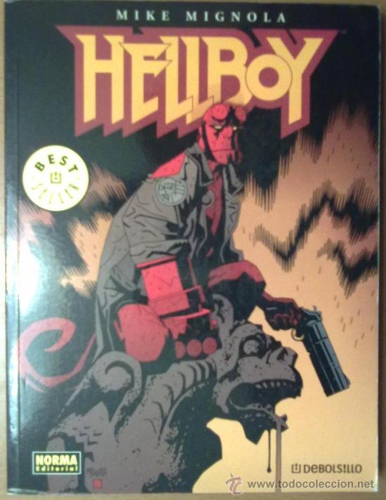 HELLBOY. MIKE MIGNOLA 1ª EDICION JULIO 2008 (Tebeos y Comics - Norma - Comic USA)