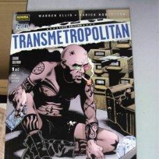 Cómics: TRANSMETROPOLITAN : CIUDAD SOLITARIA Nº 1 / WARREN ELLIS / VERTIGO NORMA. Lote 35734817
