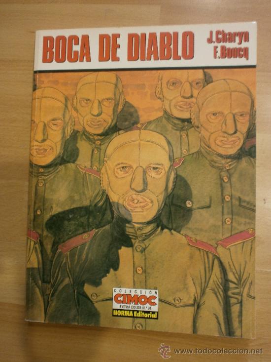 BOCA DE DIABLO, DE JEROME CHARYN Y FRANÇOIS BOUCQ (Tebeos y Comics - Norma - Comic Europeo)