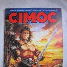 Cómics: CIMOC. Nº 72. NUEVA EPOCA, NORMA EDITORIAL. ALVAR MAYOR DE TRILLO Y BRECCIA, FONT, ORTIZ Y SEGURA. Lote 35900464
