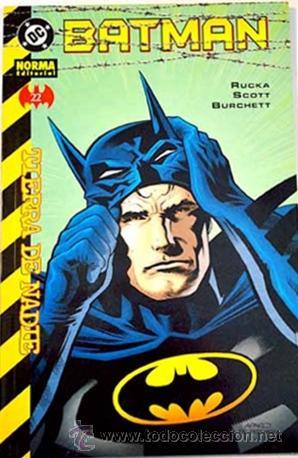 BATMAN: TIERRA DE NADIE Nº 22 RUCKA & SCOTT & BURCHETT DC COMICS - NORMA EDITORIAL (Tebeos y Comics - Norma - Comic USA)