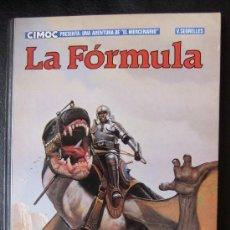 Cómics: EL MERCENARIO Nº 2 LA FORMULA. Lote 36076323