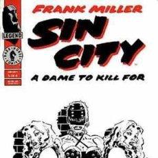 Cómics: SIN CITY: A DAME TO KILL FOR. MORÍRIA POR ELLA Nº 5 DE FRANK MILLER NORMA EDITORIAL. Lote 36233816