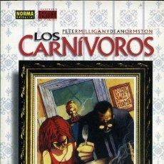 Cómics: LOS CARNÍVOROS Nº 11 DE PETER MILLIGAN Y DEAN ORMOSTON COLECCIÓN VERTIGO DC COMICS EDITORIAL NORMA. Lote 225859305