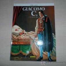 Cómics: GIACOMO C Nº 2: LA CAIDA DEL ANGEL (DUFAUX-GRIFFO) EDITORIAL NORMA TAPA DURA. Lote 36326587