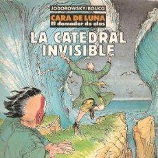 Cómics: COMIC CARTONE COLECCION CIMOC ESTRA COLOR 103 LA CATEDRAL INVISIBLE JODOROWSKY. Lote 36379129