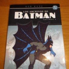 Cómics: LOS ARCHIVOS DE BATMAN Nº 1 NORMA EDITORIAL. 2005 . 306 PAGS. Lote 36412854