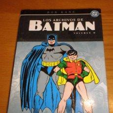 Cómics: LOS ARCHIVOS DE BATMAN Nº 2 NORMA EDITORIAL. 2005 . 288 PAGS. Lote 36412873