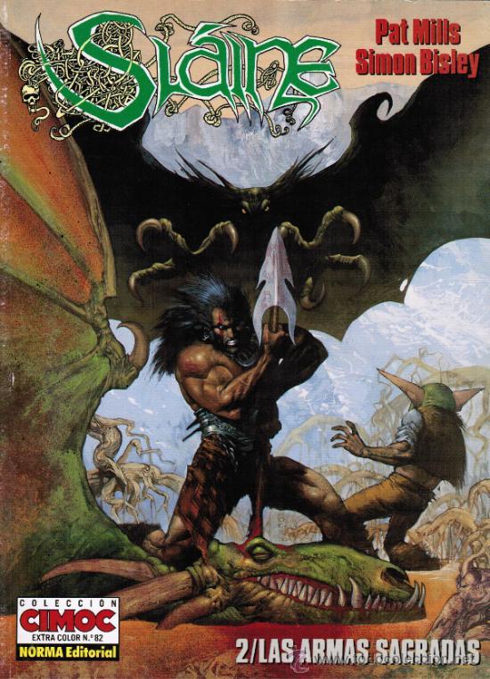 SLAINE. 2/LAS ARMAS SAGRADAS - COLECCION CIMOC EXTRA COLOR Nº 82 - NORMA 1996. 2ª ED (Tebeos y Comics - Norma - Cimoc)