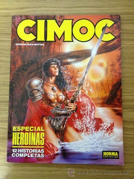 CIMOC ESPECIAL HEROÍNAS (Tebeos y Comics - Norma - Cimoc)