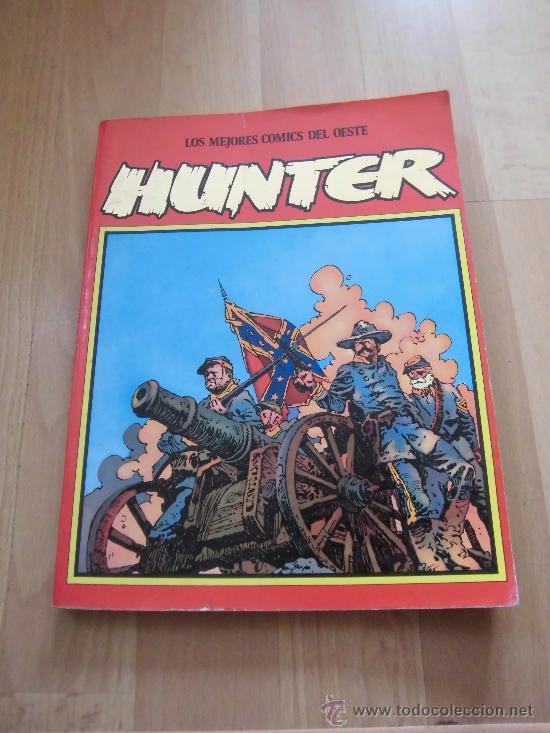 LOS MEJORES COMIC DEL OESTE HUNTER TOMO CON LOS NUMEROS 10-11-12 (Tebeos y Comics - Norma - Otros)