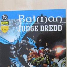 Cómics: BATMAN.JUDGE DREDD. MORIR DE RISA DE ALAN GRANT, JOHN WAGNER Y JIM MURRAY (NORMA). Lote 36537843