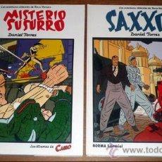Cómics: LOTE DE DOS COMICS DE LAS AVENTURAS SIDERALES DE ROCO VARGAS - EL MISTERIO DEL SUSURRO + SAXON. Lote 27548505