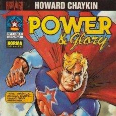 Cómics: POWER & GLORY [SERIE COMPLETA] (HOWARD CHAYKIN). Lote 36732128