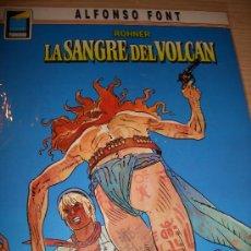 Cómics: JOHN ROHNER MARINO, LA SANGRE DEL VOLCÁN (NORMA, 1990). Lote 36768186