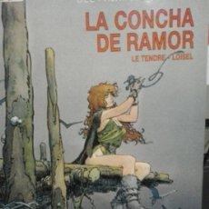 Cómics: LA BUSQUEDA DEL PAJARO DEL TIEMPO, HOMERO. 3 TOMOS COLECCIÓN CIMOC EXTRA COLOR. 17, 25. Lote 36879007