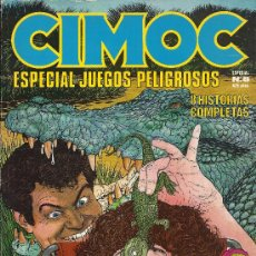 Cómics: CIMOC ESPECIAL ( NORMA ) ORIGINAL 1981 LOTE. Lote 37073137