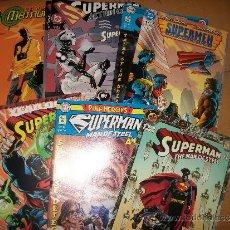 Cómics: LOTE 9 COMICS USA - SUPERMAN - METROPOLIS, ANNUALS, ACTION COMICS, MAN OF STEEL, SUPERMEN. VER DETA. Lote 37081922