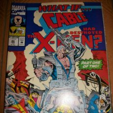 Cómics: COMIC USA - WHAT IF… VOL.2 - #46 - CABLE HAD DESTROYED X-MEN? - INGLES - MARVEL. Lote 37082054